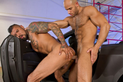 Raging Stallion - Auto Erotic Part 2 - Boomer Banks And Sean Zevran