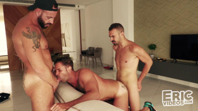 Dani fucked by Koldo and Leo (Dani Robles, Koldo Goran, Leo Rosso)