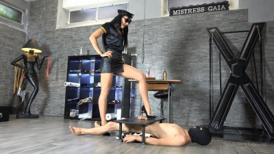 Description Mistress Gaia Ballbusting Squad