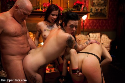 Christmas Part Two: BDSM slaves and anal whores celebrate the holidays