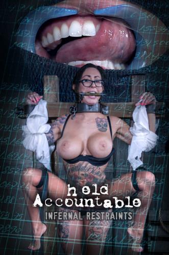 Description Infernal Restraints - Oct 06, 2017 - Held Accountable