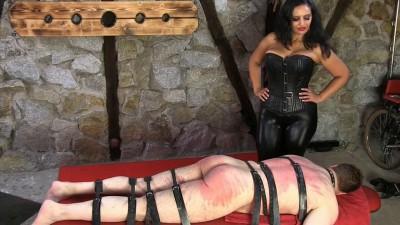 Description Mistress Ezada Sinn - A Hard Belting - HD 720p