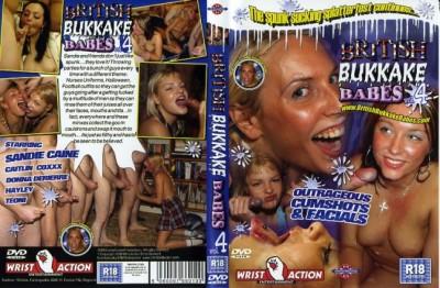 British Bukkake Babes #4