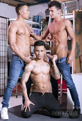 Carlos Leao, Camilo Uribe and Fabio Toba [Packed In The Boxroom]