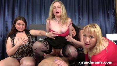 Jolly Yvette, Renate, Victoria - Mature Orgy (2021)
