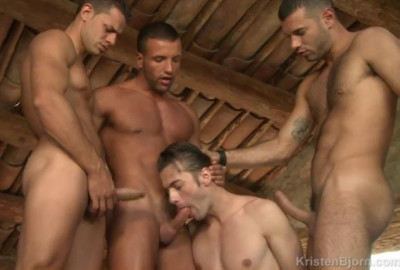 Raw Mountain Gangbang