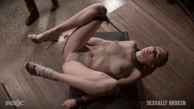 Kinky beauty Ashley Lane is rough fucked in bondage! – HD 720p
