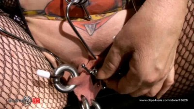 SlaveM  / clip4sale - Juicy busty lady torments his body