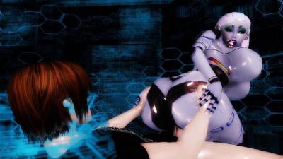 Virtual Robo Pussy Fuck