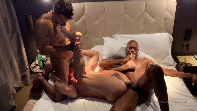 Rhyheim Shabazz and Jay Alexander fucks Ruslan Angelo