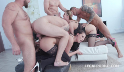 Double Addicted with Jolee Love & Nikky Dream Balls Deep Anal DAP