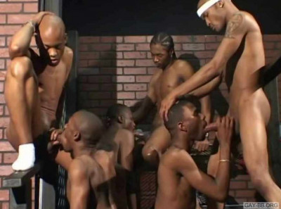 Thugs Cocks In Hard Gangbang