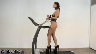 Treadmill Training Session - Melissa Mendini - HD 720p