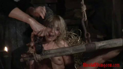 Prostitute Romina Endures BDSM Gang Bang & Wax Foot Torment – Full Movie