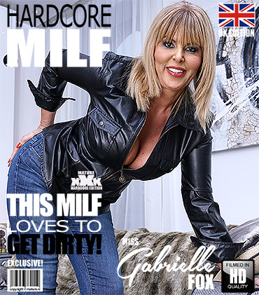 British MILF Miss Gabrielle Fox has sex with a dirty old man 1080p