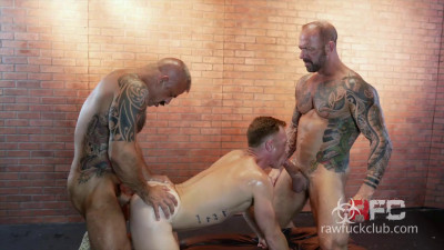 Raw Fuck Club – Jon Galt, Vic Rocco and Saxon West