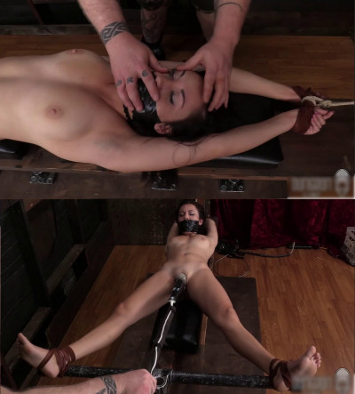 Tight bondage, domination, spanking and torture for young slut (part2)