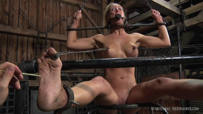 Bondage, Strappado, Spanking And Torture For Bitch Part 2