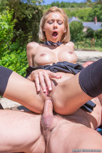 Veronica Leal - Latina Schoolgirl Enjoys Anal and Squirting (2019)