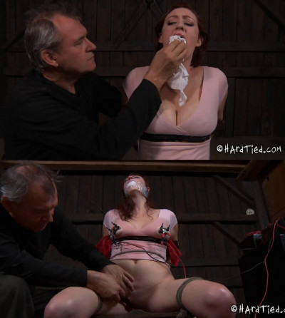 Hard bondage, spanking and torture for very sexy angel