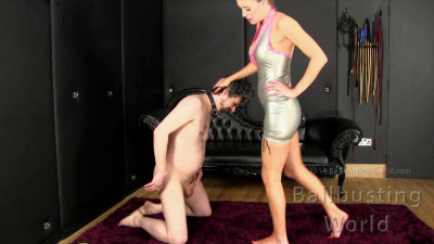 Ballbusting World - Castration Cate