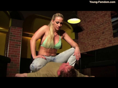 Young-femdom – The loan shark comes back