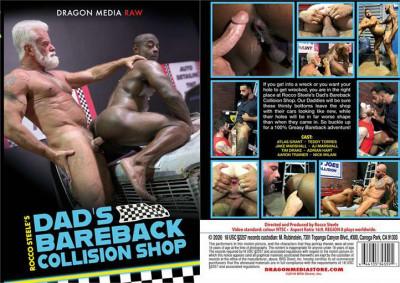 Rocco Steele's man's Bareback Collision Shop