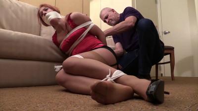 Cheyenne Jewel-He made me look away as he tied me up!