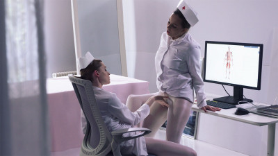 Rossy Bush, Pavla – Foot Fetish Dildo Nurses (2017)