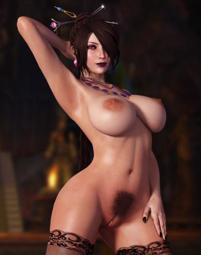 Description Lulu (Final Fantasy X) assembly