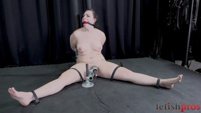 Nude, Panting, Tightly Bound Shelby Paris Submits to Bondage Orgasm