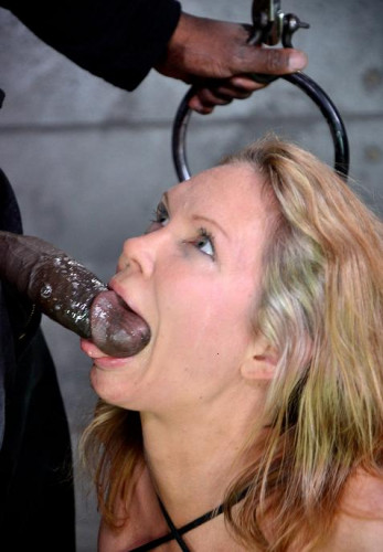 Black eclair for slave