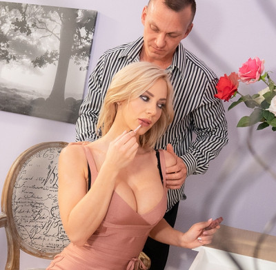 Description Nathaly Cherie - Slow romantic fuck in stockings FullHD 1080p