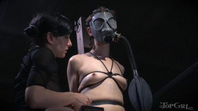She Doesn't Express Herself Often Unless She Is In Bondage