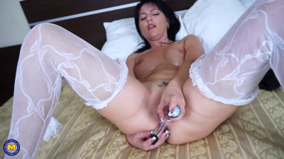 Mariah — Beautiful Lady Wearing A Sexy Panty Outfit And Enjoys Her Pink Shaved Pussy
