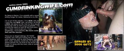 Bukkake and Gangbang Slutwife Pack 2