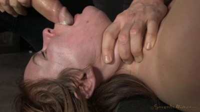 Pale Redhead Claire Robbins Strictly Restrained And Roughly Fucked