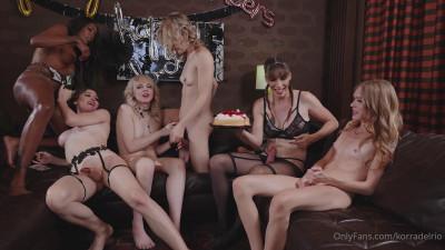 Star Birthday Party – six ts girls!