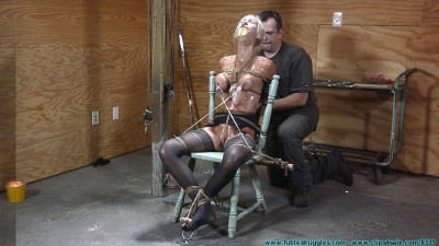 Thighs Spread Chair Tie for Amanda Fox 3 part – Extreme, Bondage, Caning