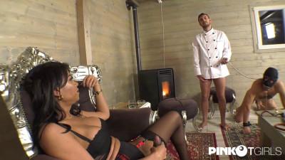 Mistress Waleska Bangs Her SlaveS Ass