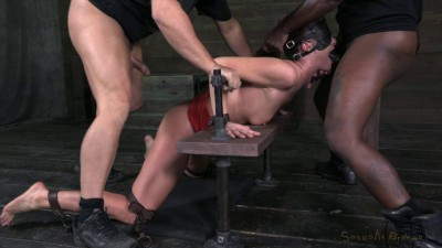 SexuallyBroken  Brutal deep throating!