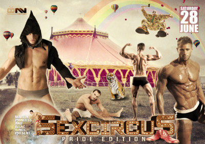 Sexcircus London Pride Edition 2014