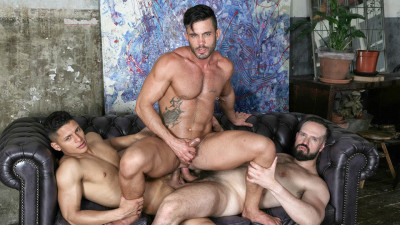 Description 3some Andy Onassis, Santiago Rodriguez & Andy Star 1080p