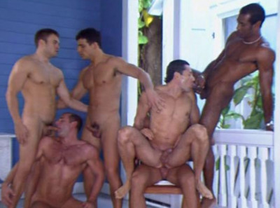Description Real Gangbang Party With Muscle Studs