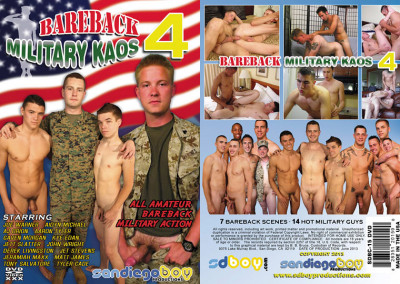 San Diego Boy Productions – Bareback Military Kaos Vol.4 (2013)