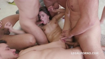 Sperma Party Evelina Darling seven on one Dp Dap Tp Ball Deep Swallow she liked it (2017)