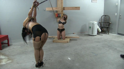 Asiana Starr and Milf GiGi in a Bondage Predicament