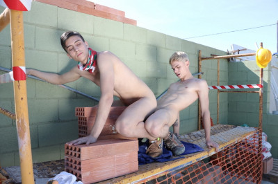 Uncooked Builders, Sc.3: Brick-Laying Buddies Flip-Flop To A Raw
