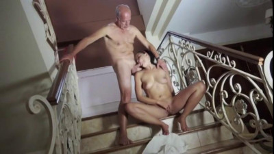 Description The old man fucks me cool