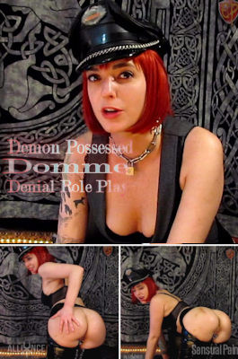 Demon Possessed Domme Denial Role Play – Abigail Dupree – Full HD 1080p